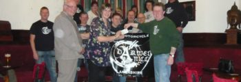 Donation from Darwen Motorcycle Club