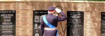 World War One Memorial Unveiling Ceremony