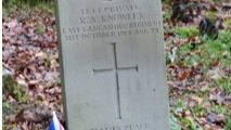 Centenary of Darwen Cemeteries first WW1 burial.  Private Richard Aspden Knowles