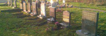 Vandalised Graves Re-erected