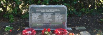Redearth Road Methodist Church  Commemorative Stone Unveiling